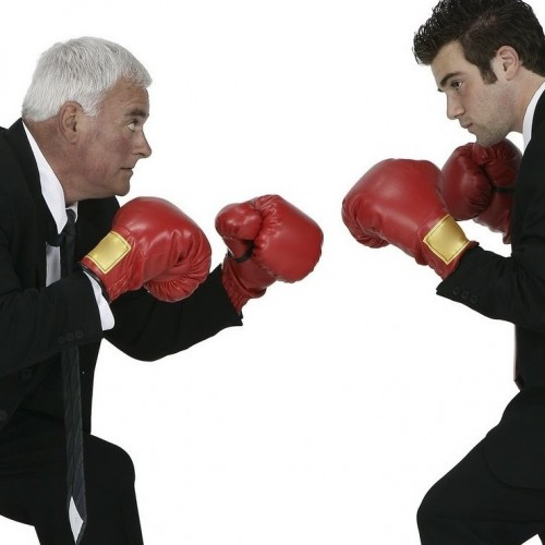 Executives fighting